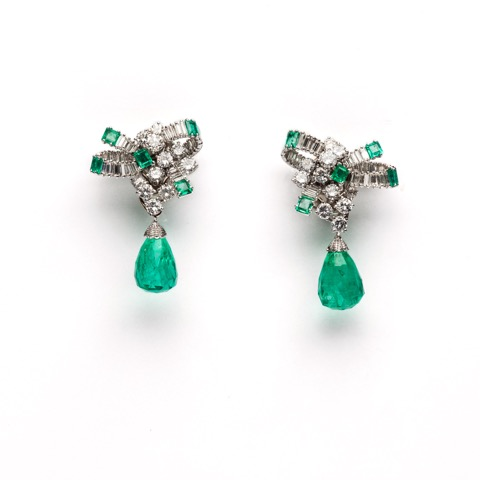 Faraone Casa d'Aste Chantecler earrings