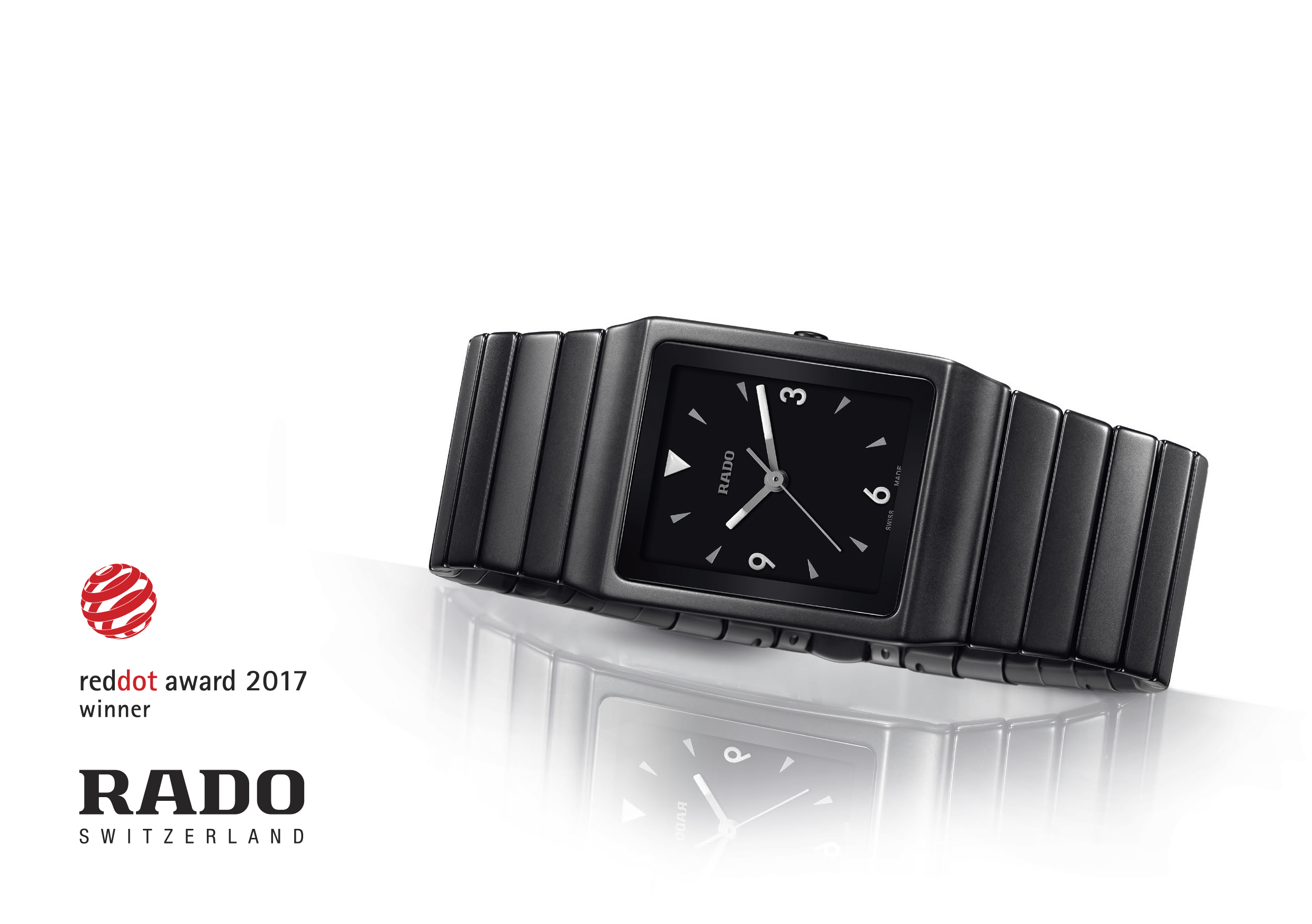 Red Dot Award 2017 Rado Ceramica